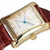 [ゴフオス]GOHUOS 腕時計 機械式時計 自動巻き メンズ ブラウン