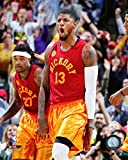 """Paul George Indianapolis Pacers 2015-2016 NBA Action Photo (Size: 8"""" x 10"""")"""