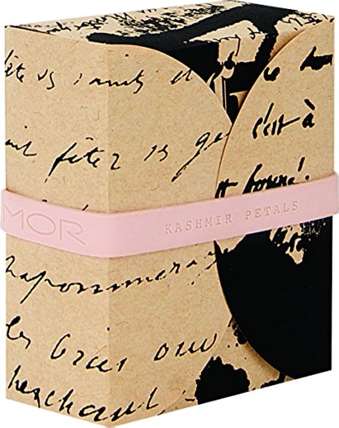 ルネッサンス作詞家市の中心部MOR(モア) コレスポンデンス トリプルミルドソープバー カシミアペタルズ 180g