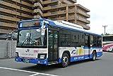 全国バスコレクション JB054 西日本ジェイアールバス いすゞエルガ ノンステップバス ジオラマ用品
