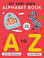 Alphabet Book: Illustrated educational alphabet handwriting Letter tracing book