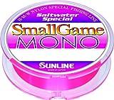 ナイロンライン ソルトウォータースペシャル スモールゲーム MONO 150m 1.25号 6lb ベニーピンク