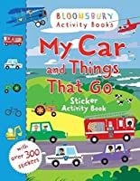 My Car and Things That Go Sticker Activity Book (Chameleons)
