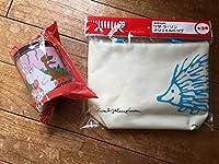 リサラーソン トートバッグ+アサヒ ムーミン ピンク缶 北欧 サントリー ハリネズミ サントリー