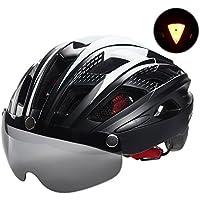 自転車 ヘルメット, VICTGOAL大人男女兼用 で磁気ゴーグルバ 超軽量 高剛性 サイクリング ロードバイク クロスバイク スポーツ 通気 サイズ調整可能