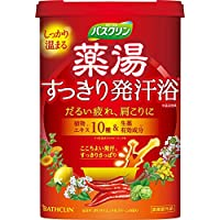 バスクリン 薬湯すっきり発汗浴入浴剤600g(医薬部外品)