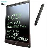 HOMESTEC 12インチ 電子手帳 文房具 電子パッド 電子メモ デジタルペーパー (黒)