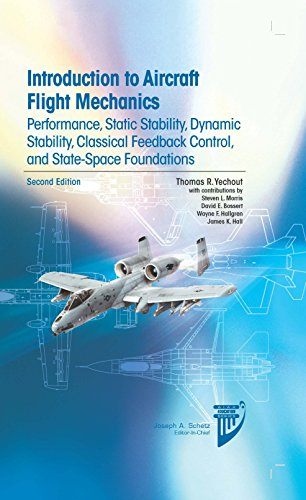 Download Introduction to Aircraft Flight Mechanics: Performance, Static Stability, Dynamic Stability, Classical Feedback Control, and State-space Foundations (AIAA Education Series) 1624102549