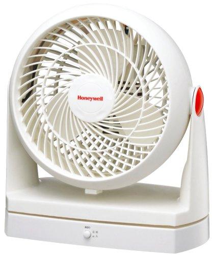 Honeywell 【前面カバーが外せて羽根が洗える】 ターボサーキュレーター(自動首振り) ホワイト HFT-2114-WH