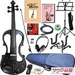 Hallstatt ハルシュタット エレキヴァイオリン EV-30/ブラック 4/4サイズバイオリン サクラ楽器オリジナル 初心者入門セット