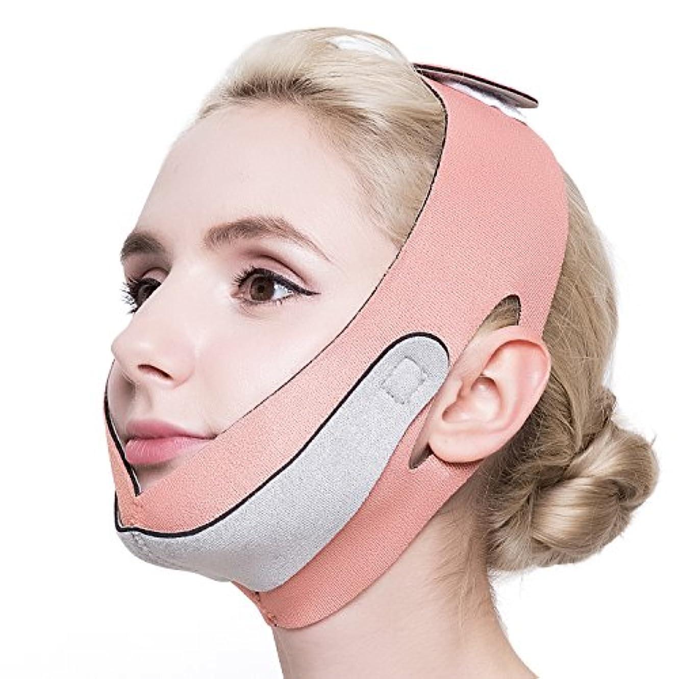 コンチネンタル購入タックPLEASINGSAN 小顔 ベルト リフトアップ フェイスマスク グッズ メンズ レディース