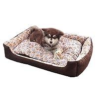 ペットクッション ペットベッド 犬用 猫用 小中大型犬も適用 ペットマット ソファー 室内寝袋 犬猫兼用 丸洗いにもOK 柔らかい 可愛い 防水 アールシーズン対応