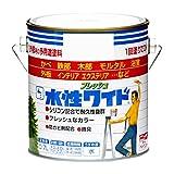 ニッペ 多用途塗料 水性フレッシュワイド ホワイト(しろ) 0.7L