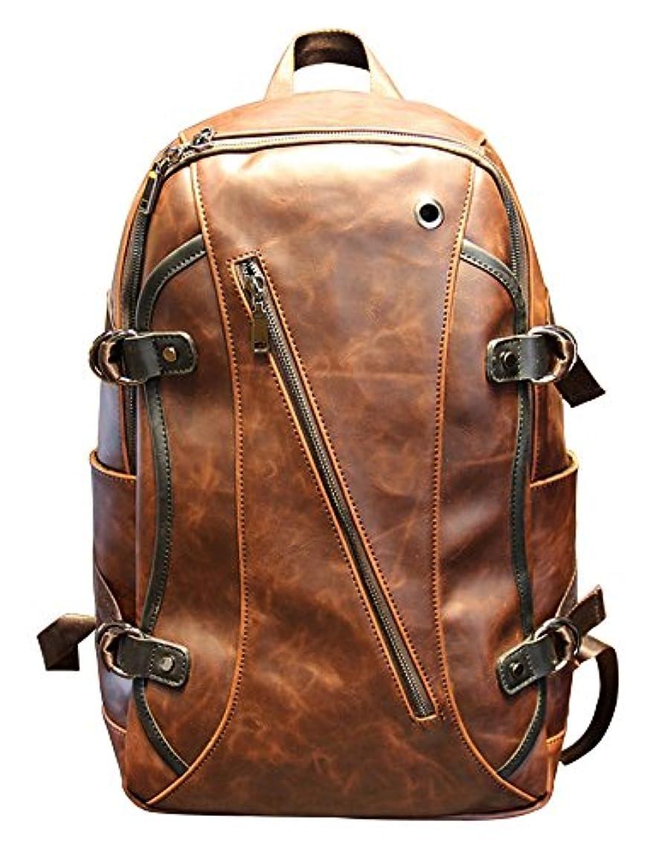 団結アリーナ重さ高級 革 リュックサック バッグ バック バックパック メンズ レディース レザー 皮 鞄 通勤 通学 軽量 大容量