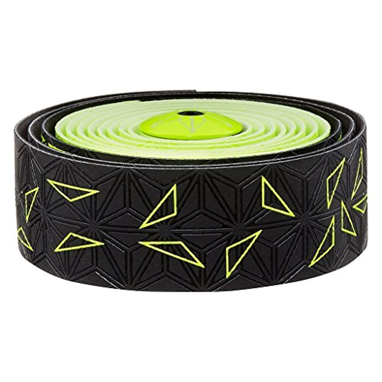 シャー定刻実業家スパカズ ネオンイエロー スーパースティッキークッシュテープ スターフェイド バーテープ Set