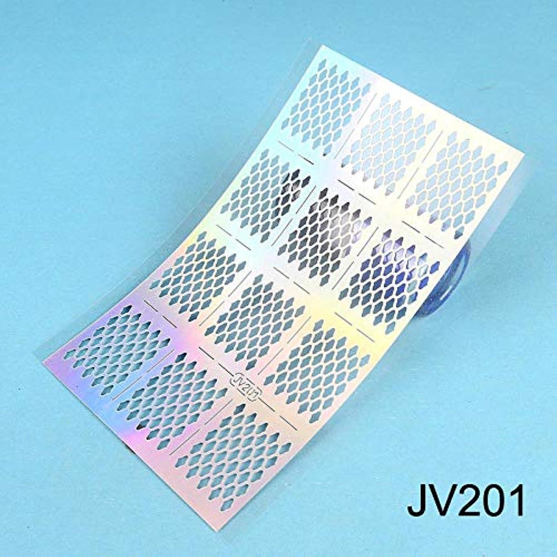 出くわす運賃加速度SUKTI&XIAO ネイルステッカー シートレーザーネイルビニールネイルアートマニキュアステンシルネイルアート中空ステッカー装飾ツールアクセサリー、Jv201