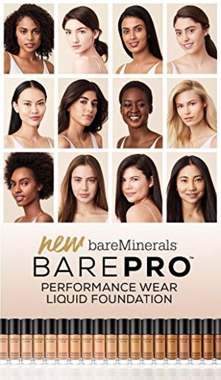 民主主義ターゲット一過性ベアミネラル BarePro Performance Wear Liquid Foundation SPF20 - # 01 Fair 30ml/1oz並行輸入品