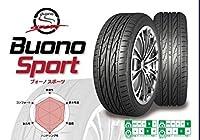 【4本セット】LUCCINI(ルッチーニ) Buono Sport(ヴォーノスポーツ) 205/50ZR17 93W 205/50R17