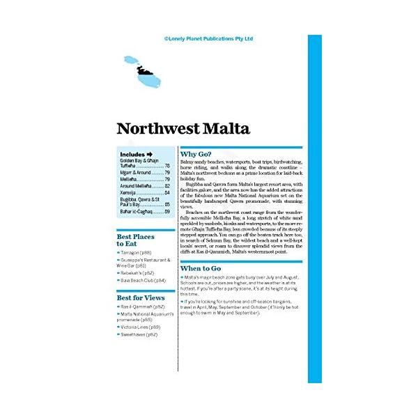 Lonely Planet Malta & ...の紹介画像12