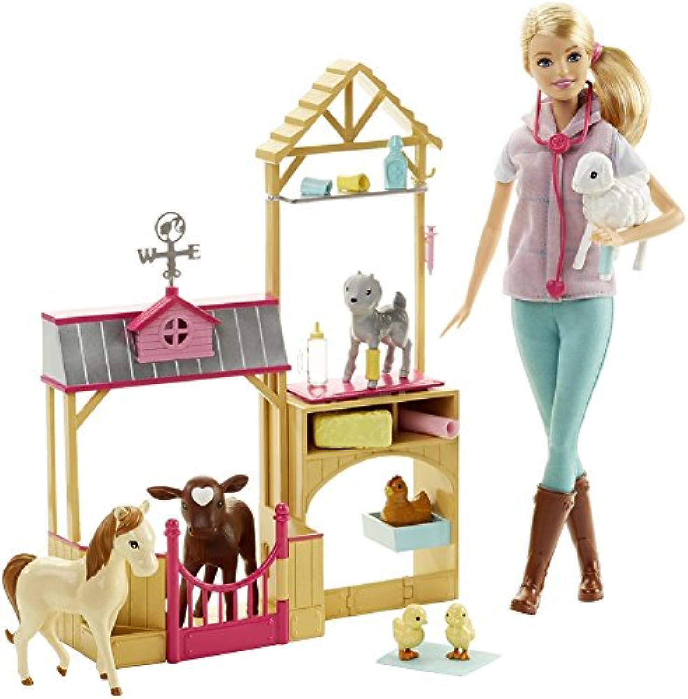 [バービー]Barbie Farm Veternarian Doll & Playset DHB71 [並行輸入品]