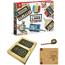 【Amazon.co.jp限定】Nintendo Labo (ニンテンドー ラボ) Toy-Con 01: Variety Kit +オリジナルマスキングテープ+専用おまけパーツセット - Switch