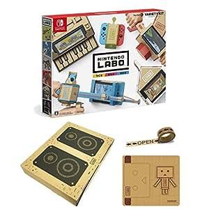 【Amazon.co.jp限定】Nintendo Labo (ニンテンドー ラボ) Toy-Con : Variety Kit +オリジナルマスキングテープ+専用おまけパーツセット - Switch