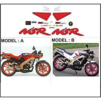 ability to customize the colors Kit adesivi decal stickers HONDA NSR 125 R SP 1991 JC20