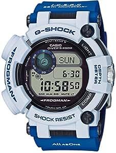 [カシオ]CASIO 腕時計 G-SHOCK MASTER OF G 世界6局対応電波ソーラー FROGMAN Love The Sea And The Earth GWF-D1000K-7JR メンズ