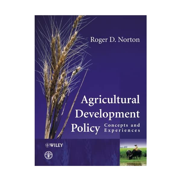 Agricultural Development...の商品画像