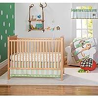 Garanimals Tropical Tree Top, 3 Piece Bedding Nursery Set by Garanimals