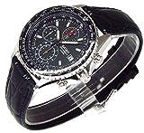 SEIKO クロノグラフ 腕時計 本革ベルトセット 国内セイコー正規流通品 ブラック SND253P1 [並行輸入品]
