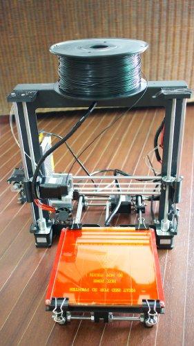 3Dプリンター RepRap Prusa i3キット 組み立てサポート ABS/PLA樹脂1Kg付