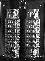 3D LEANING TOWER OF PISA Miscellaneous Candy Mold Chocolate- part B by CybrTrayd