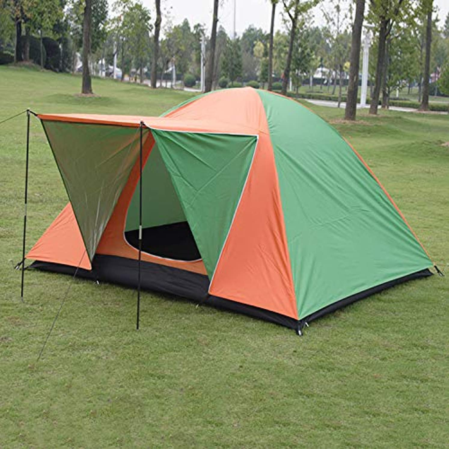 特別な参加者恥ずかしさ屋外のテント3-4、4-5、二重防水および防風キャンプマウンテンテントポータブルテント