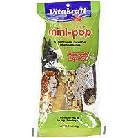 Vitakraft Mini Pop - Microwavable Mini Corn Cob Treats for Pet Rabbits, Guinea Pigs and Other Small Animals, 6.0 Ounce Bag by Vitakraft
