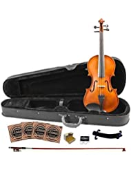 Rise by Sawtooth ST-RISE-VFLAME Beginner'S Violin Full Size [並行輸入品]