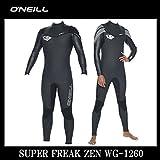 15-16 O'NEILL SUPER FREAK ZEN NONZIP / オニール スーパーフリーク ゼン WG-1260 ウェットスーツ ノンジップ サーフィン ウェット BLK/BLK LB