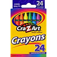 (24 Count) - Cra-Z-Art 10201 24 Count Assorted Colours Crayons