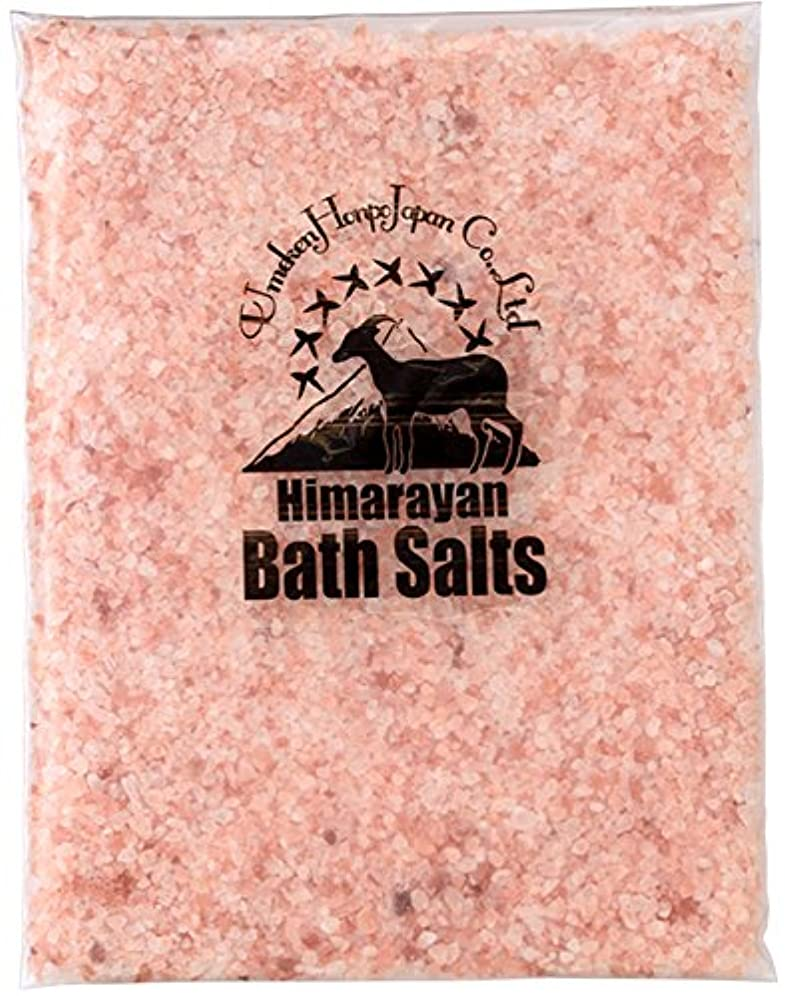 夜役割簡単なヒマラヤ岩塩 バスソルト ピンク 小粒 1kg