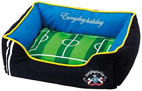 【Everyday holiday 】 ワンちゃん用ベッド  サッカー場&テニス場ベッド