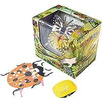 Springdoit ジェスチャーコントロールの蝶の飛行機の飛行機バイオニッケイ昆虫ノベルティおもちゃのクリスマスギフト - ランダムスタイル