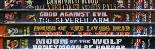 Grindhouse Horror Collection, Volume 1 (Carnival Of Blood / The Undertaker And His Pals / Good Against Evil / The Severed Arm / House of the Living Dead / Terror at the Red Wolf Inn / Moon Of The Wolf / Honeymoon of Horror) (4-DVD) by Various