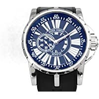 ロジェ・デュブイ ROGER DUBUIS エクスカリバー RDDBEX0104 ブラック文字盤 メンズ 腕時計 【中古】