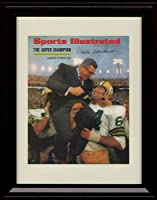 Framed Vince Lombardi Sports Illustrated Autographレプリカ印刷