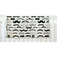 KESS InHouse Heidi Jennings Stached Gray Black Fleece Baby Blanket 40 x 30 [並行輸入品]