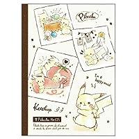 【ポケットモンスター】B5クラフトクロスノート(ピカチュウ/ピカコレ) 061138