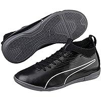 PUMA Boys Evoknit FTB II IT JR Football Boots, Black Black Silver