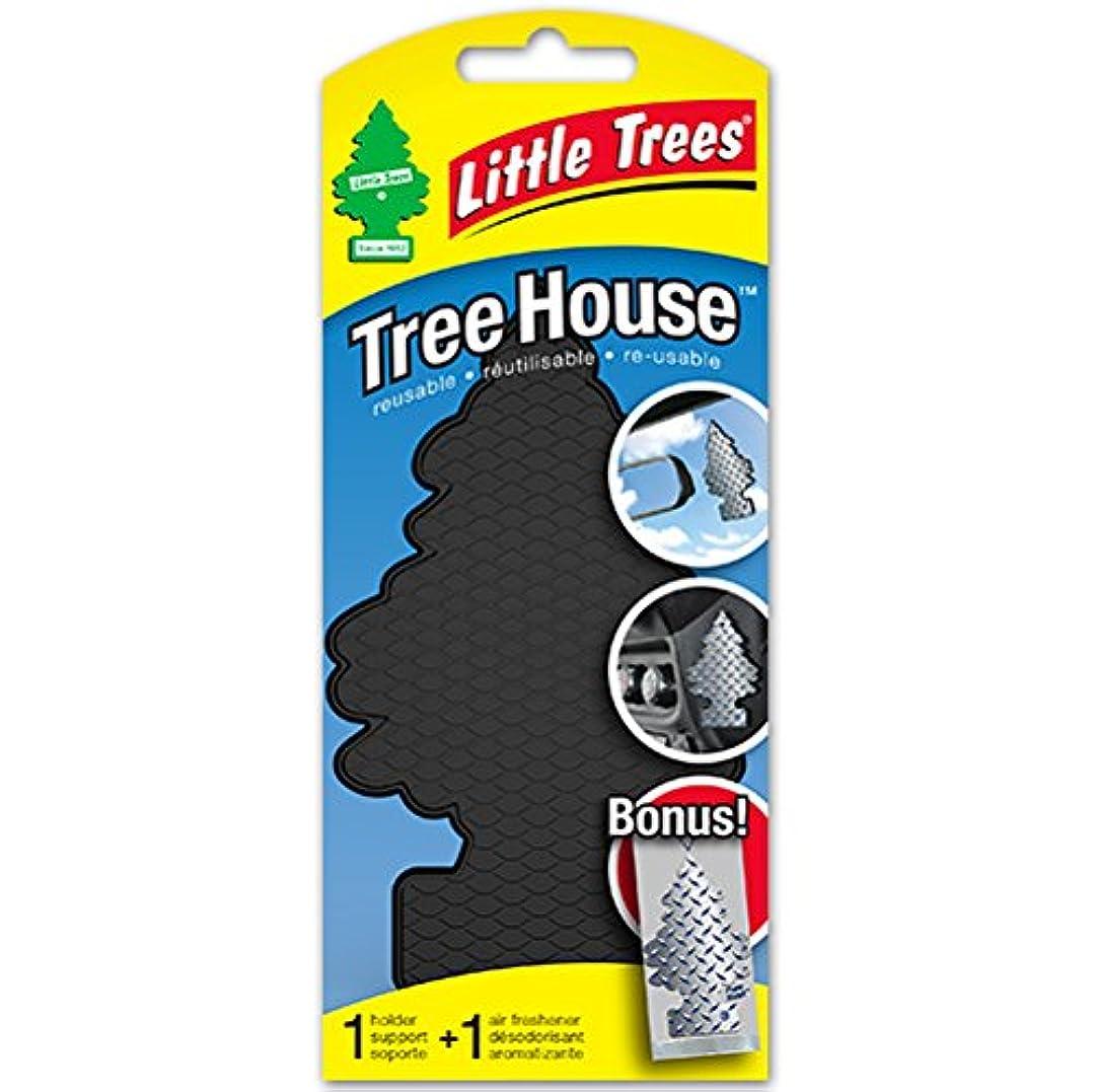 空気王族フラッシュのように素早くリトルツリー ツリーハウス 「ブラック with ピュアスチール」 UTH17152 /Little Trees/