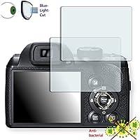 2 x DISAGU ClearScreen Fujifilm FinePix S4500対応 画面保護フィルム 雑菌防止 ブルーライトフィルタ 保護フィルム