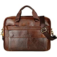 feelingood Vintage Men Bag Leather Handbag Shoulderbag Briefcase Messenger Bag